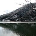 雪の水月湖