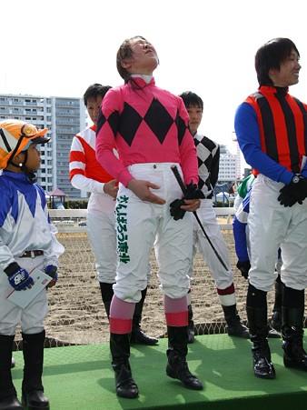 120219ポニーレースin川崎-表彰式後参加者からの挨拶-07
