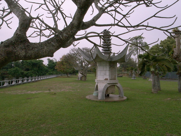 弥陀禅寺前庭