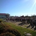 写真: 袋井市の訓練は今年4回目。...