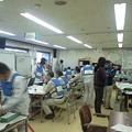 写真: 本日も静岡県の水害図上訓練...