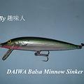 Photos: DAIWA Balsa Minnow Sinker II