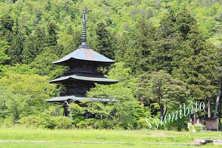 三重塔(山形県高畠町)