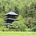 写真: 三重塔(山形県高畠町)