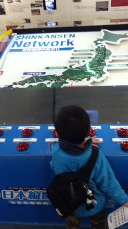 20111223新幹線の展示物