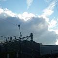 Photos: 朝からこんな雲。昼前に一雨ありそうだ。
