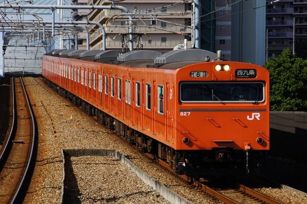 JRゆめ咲線を走る大阪環状線用の103系