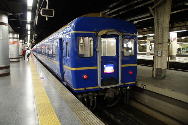 上野駅13番線から旅立つ寝台特急「あけぼの」