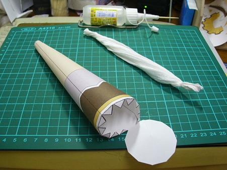 纸模-麻美剑玉制作过程说明书拍摄