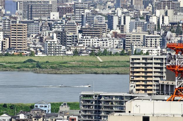 淀川の水は冷たいでぇ~!