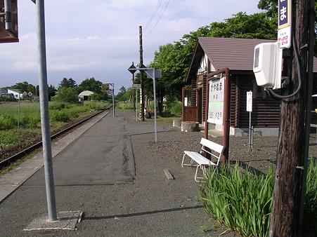 茅沼駅ホーム2
