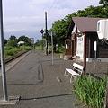 写真: 茅沼駅ホーム2