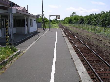 中斜里駅1