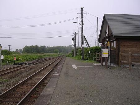 直別駅ホーム2