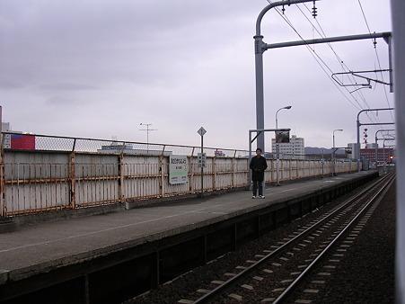旭川四条駅ホーム2