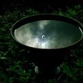 """写真: 古式水鏡の """"日食"""""""