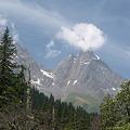 花崗岩の岩峰