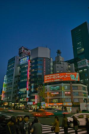 新宿の夕暮れSDIM0132