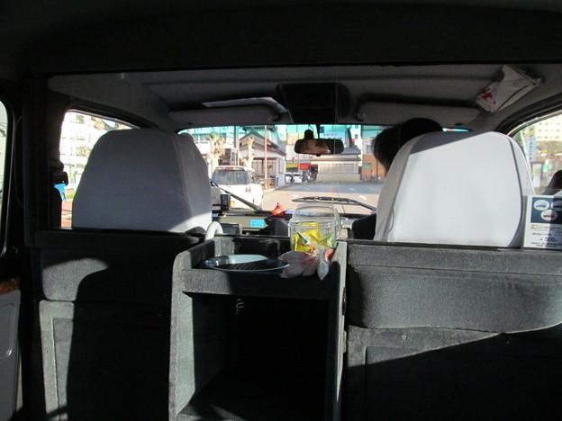 ロンドンタクシーに乗ってみた