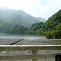 Photos: 大久保沢橋から見た雨畑湖