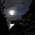 月明かり 雪明かり