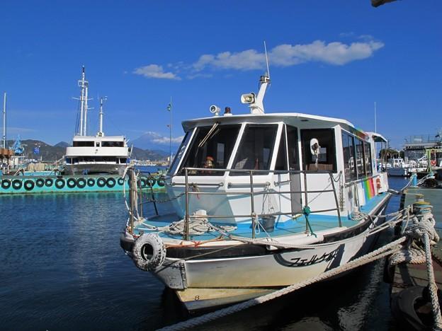 2012年1月3日 清水港日の出埠頭 水上バス