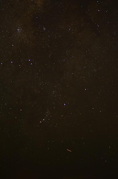 西桟橋からの星空