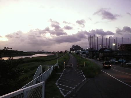 110804 多摩川サイクリングロード