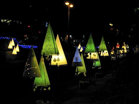 名古屋:久屋大通公園の行灯アート2