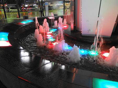 名古屋駅太閤口の噴水
