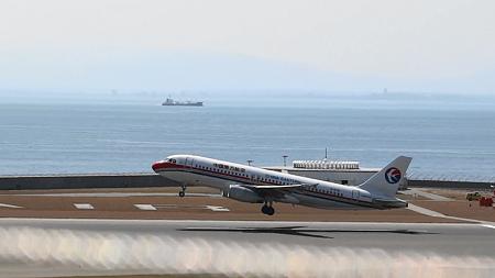 中部国際空港:離陸