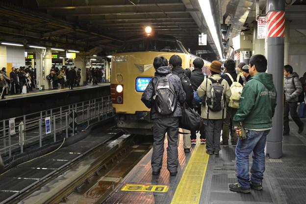 人気列車パート1(ムーンライトえちご)@新宿駅