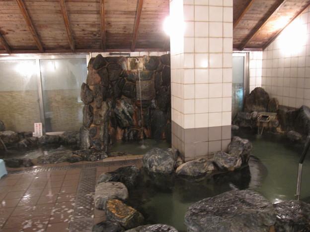 いわき湯本温泉にある共同浴場『さはこの湯』