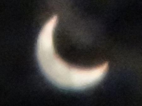 金環日食0714
