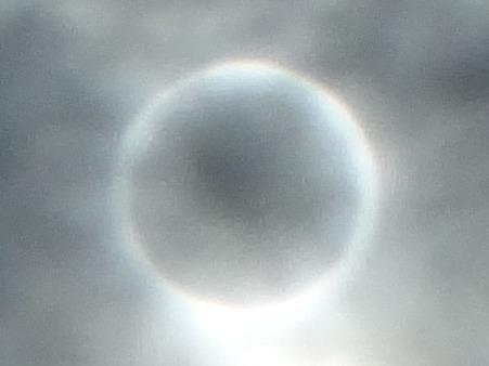 金環日食0734