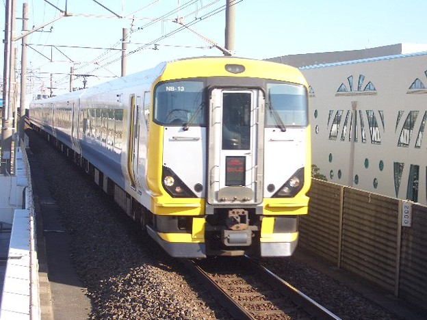 京葉線・外房線 特急わかしお東京行 CIMG8338