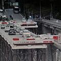 写真: 十津川村折立の開通直後