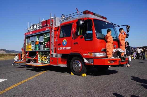岡山県、笠岡市合同防災訓練 (9)