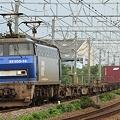 1097レ(遅延) EF200 14+コキ