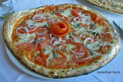 La Tavolataのピザ