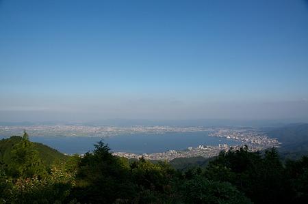 比叡山展望(琵琶湖大津方面)