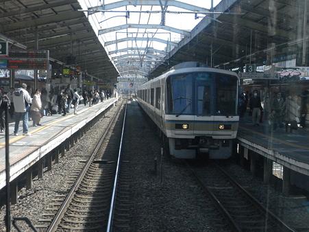 大阪環状線の車窓(弁天町→天王寺)8