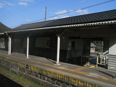 関西本線の車窓24