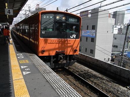 201系大阪環状線(西九条駅)