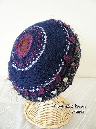 Pepaのニット・ベレー帽 3