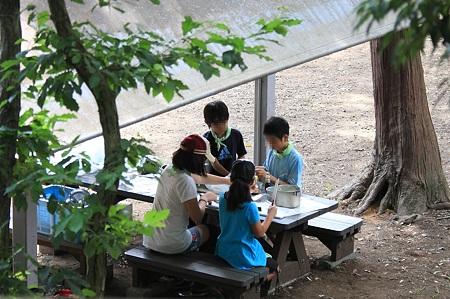2011.07.09 大池公園 キャンプ