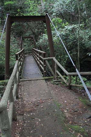 えび滝の吊り橋