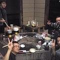 比布のブンブンハウスにてライダーさんたちと夕食!