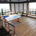 110511-90四国・中国地方ロングツーリング・高知城・天守閣最上階