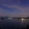 Photos: 小泊港 月の夜